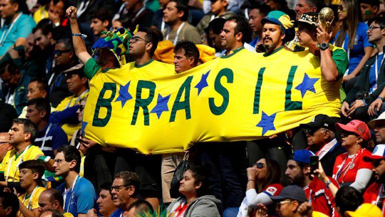 Скука по трибуните на Бразилия - Коста Рика