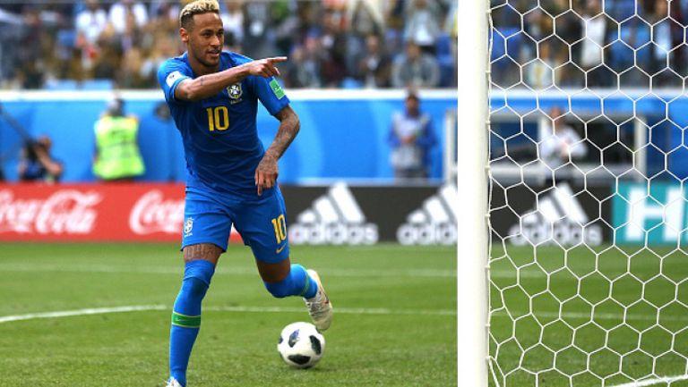 С гол на Неймар Бразилия довърши Коста Рика