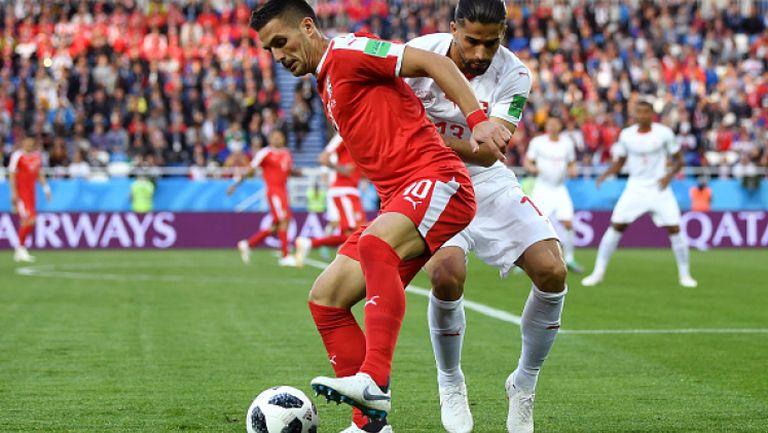 Швейцария излъга Сърбия с гол в последната минута