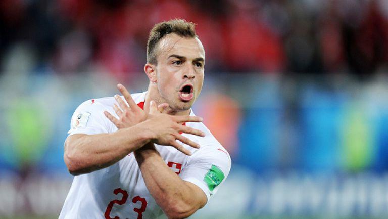 ФИФА пожали Джака и Шакири за провокациите срещу Сърбия