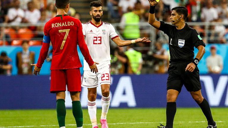 Заслужаваше ли червен картон Роналдо?