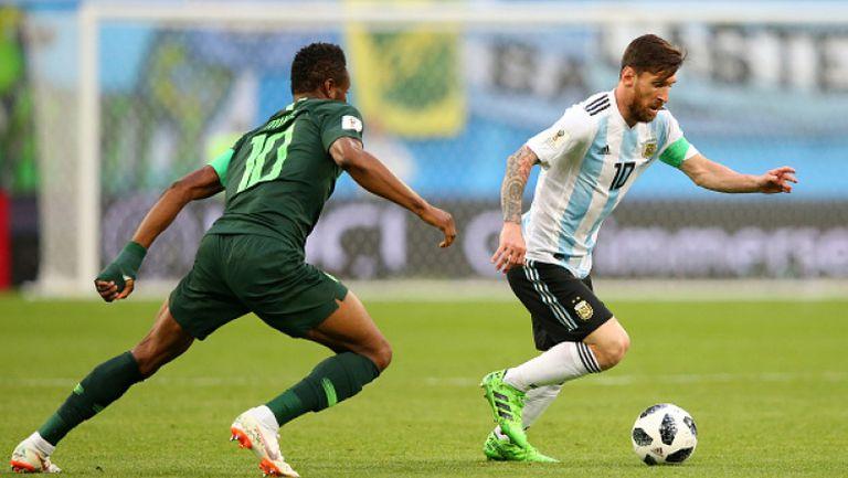 Аржентина се измъкна през иглени уши и е на 1/8-финал на Мондиал
