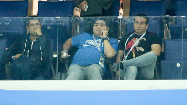 Марадона заспа на решителния мач за Аржентина
