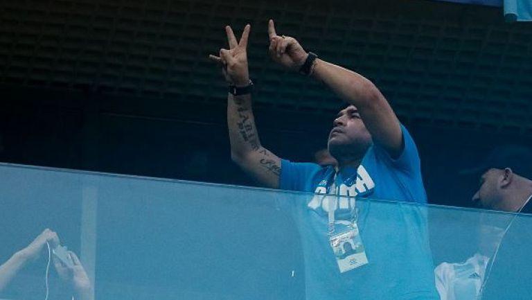 Ето в какво състояние беше Марадона след победата на Аржентина