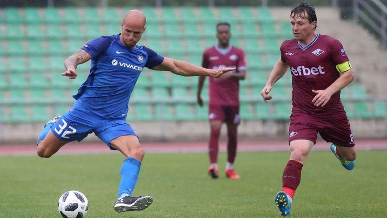 Левски се изложи срещу Септември и загуби с 1:2 в контрола