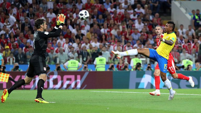 Паулиньо изведе Бразилия напред срещу Сърбия