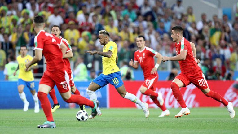 Бразилците подчиниха Сърбия и очакват Мексико в следващата фаза