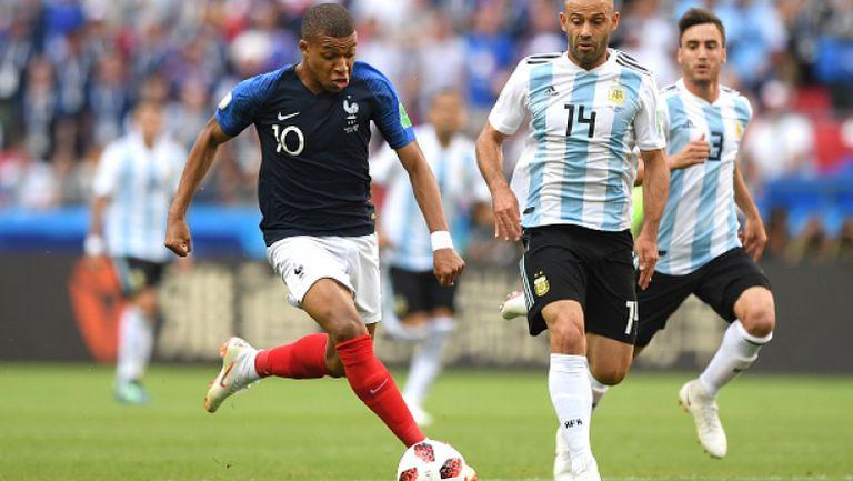 Мбапе и Франция изхвърлиха Аржентина от Мондиала след зрелищно 4:3