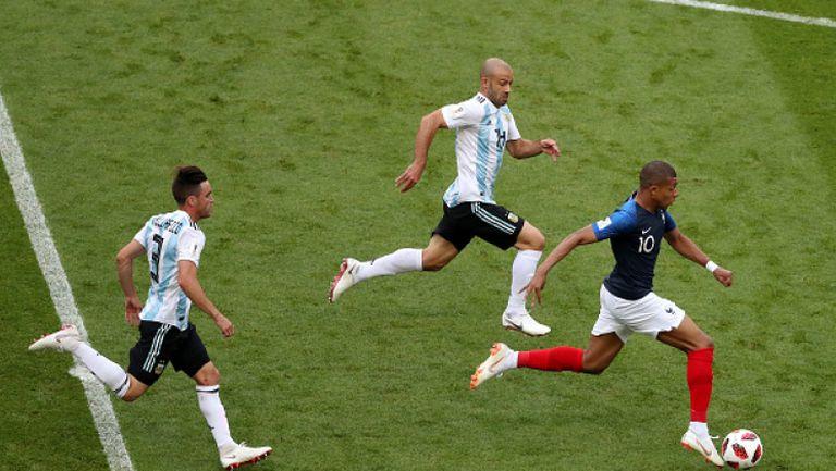 Вижте скоростта, която разви Мбапе преди първия гол за Франция