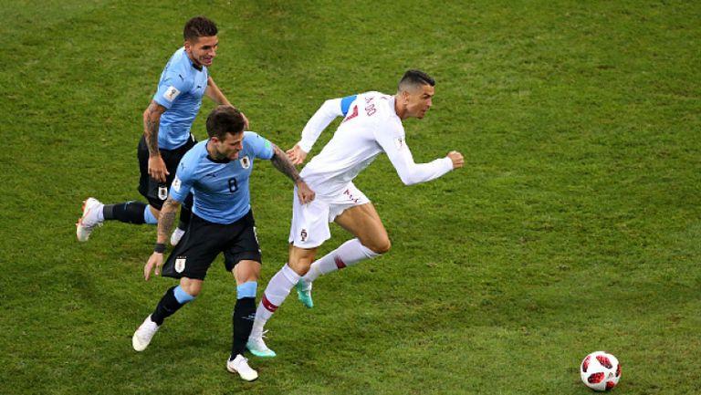 Уругвай пречупи Португалия и е на 1/4 финал срещу Франция