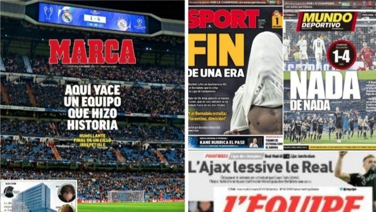 Испанската преса: Краят на една ера!