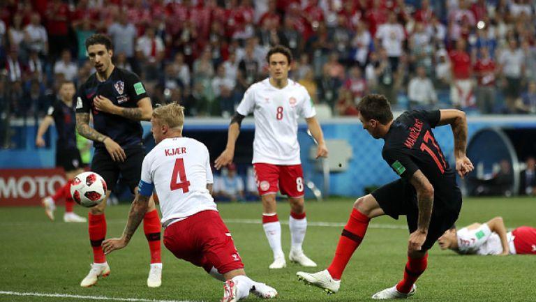 Хърватия излъга Дания след драма при дузпите