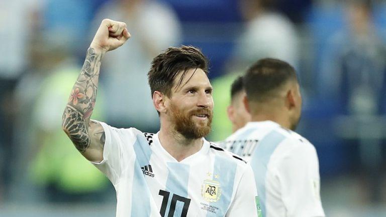 Меси избяга от Аржентина, кацна в Барселона