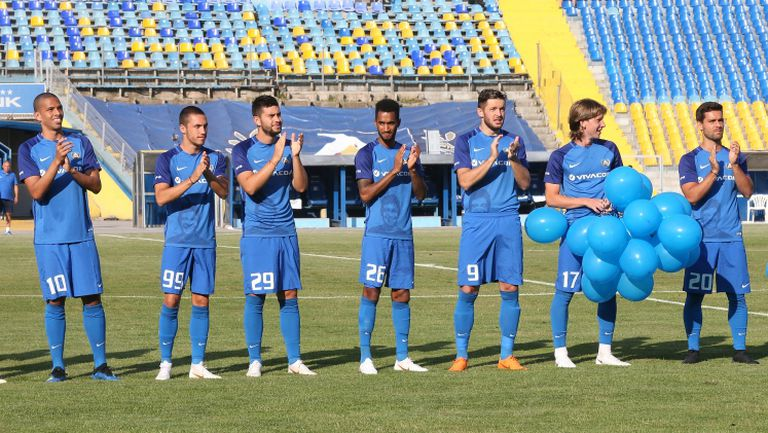 Левски представи новите попълнения и отбора за сезон 2018/2019