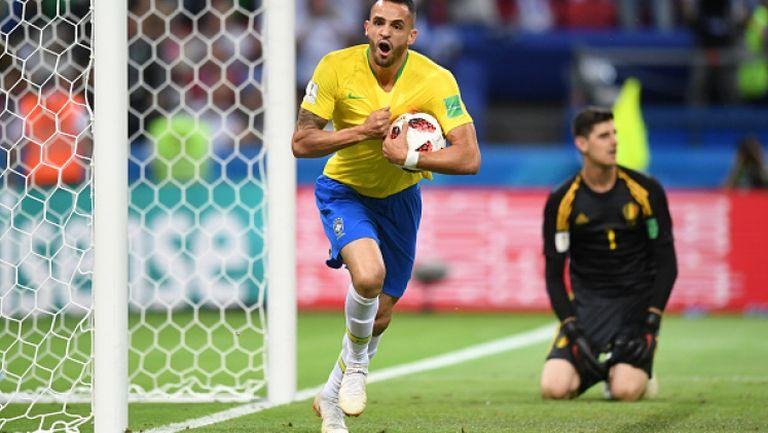 Ренато Аугусто съживи бразилските надежди с гол срещу Белгия