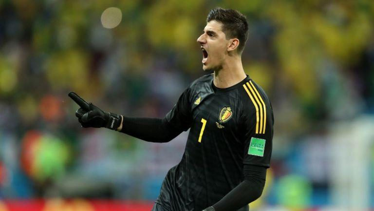 Спасяванията на Куртоа срещу Бразилия, които пратиха Белгия на полуфинал