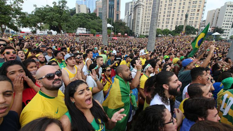Сълзи в Рио след загубата на Бразилия от Белгия