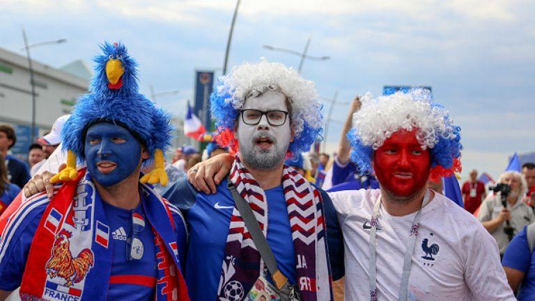 Еуфорията в Париж след победата на Франция над Уругвай