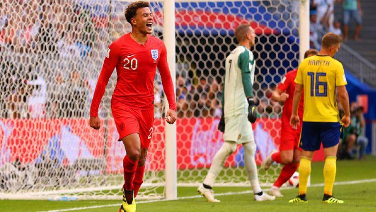 Деле Али приближи Англия до полуфиналите с втори гол срещу Швеция