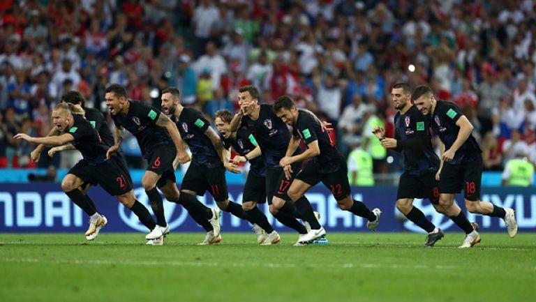 Вижте дузпите, които отстраниха Русия и пратиха Хърватия на полуфинал