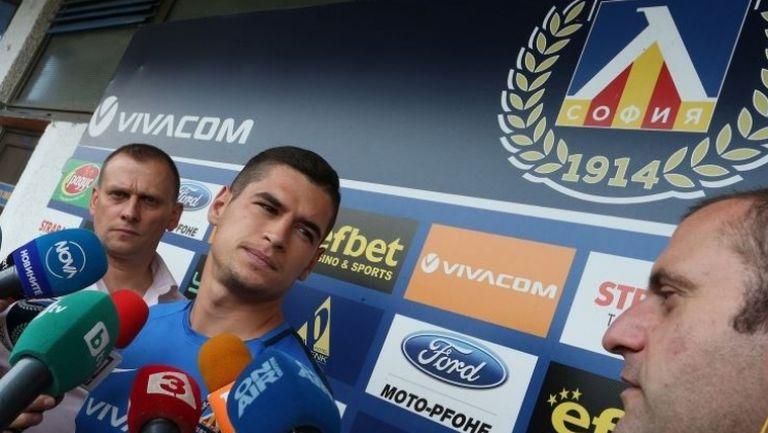 Иван Горанов: Вярвам, че сезонът ще е успешен за нас