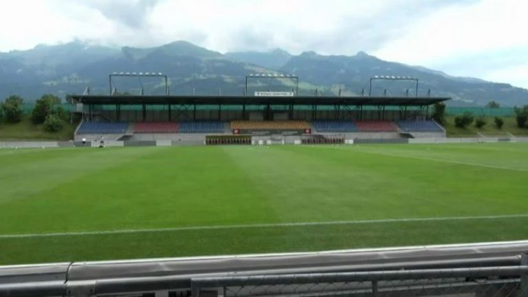 На този стадион в Лихтенщайн Левски започва европейския си поход