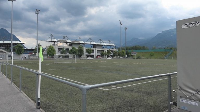 Ето базата на Вадуц, съперник на Левски в Лига Европа