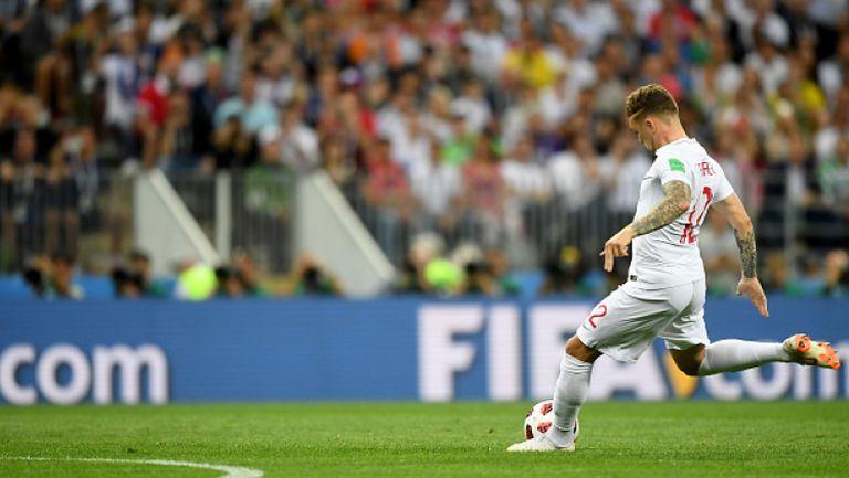 Великолепен гол на Трипиер от фаул откри резултата на Хърватия - Англия