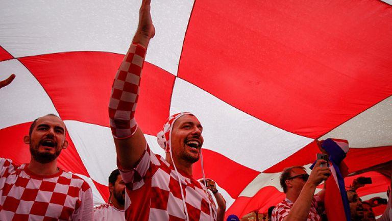 Хърватия полудя след победата над Англия