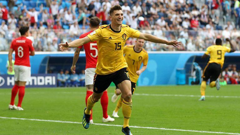 Мюние даде аванс за Белгия срещу Англия
