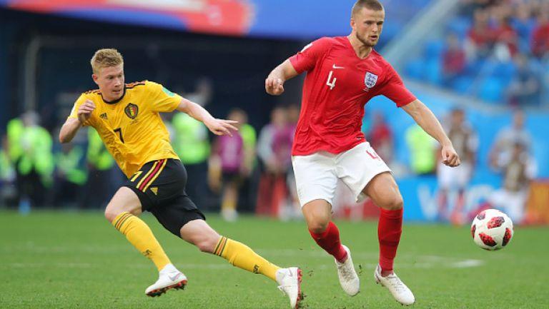 Дайър пропусна да върне интригата в мача Белгия - Англия
