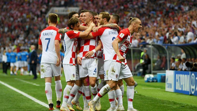 Великолепен гол на Перишич върна Хърватия във финала срещу Франция
