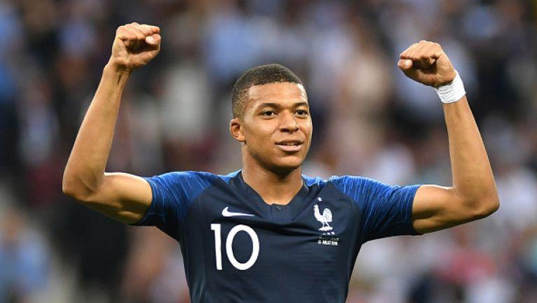 Килиан Мбапе е най-добрият млад футболист на Мондиал 2018