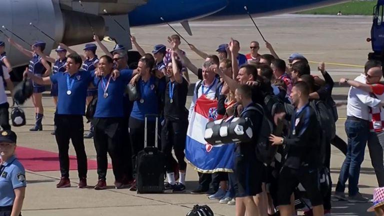 Загреб посрещна Хърватия като шампион