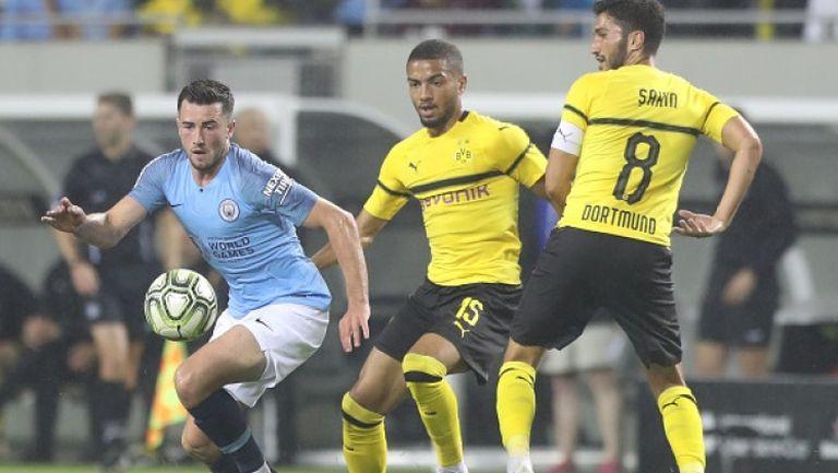 Борусия Дортмунд победи Манчестър Сити в първия мач от турнира International Champions Cup