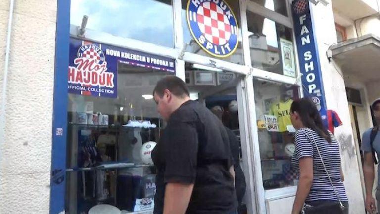 Сплит е готов за мача Хайдук - Славия