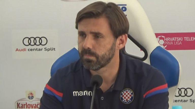 Треньорът на Хайдук хвали Славия: Здрав, качествен отбор, с добра организация в защита