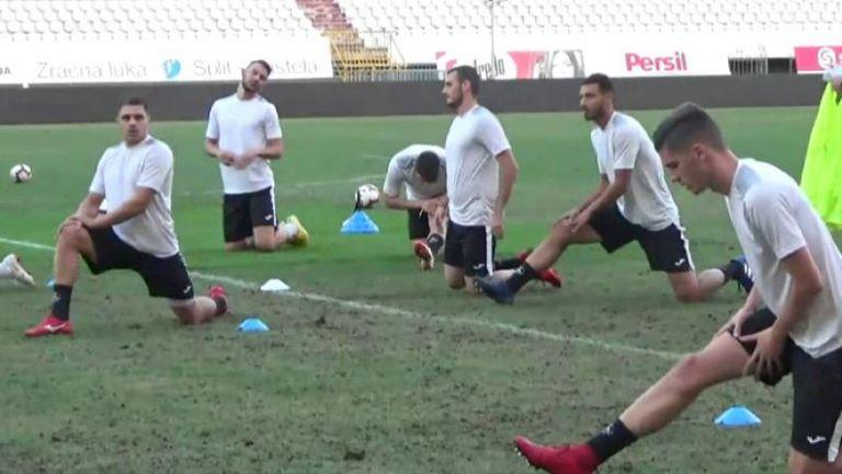 Славия тренира на стадиона на Хайдук