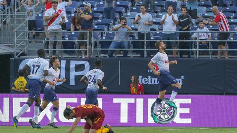 Тотнъм с категорична победа срещу Рома в Сан Диего