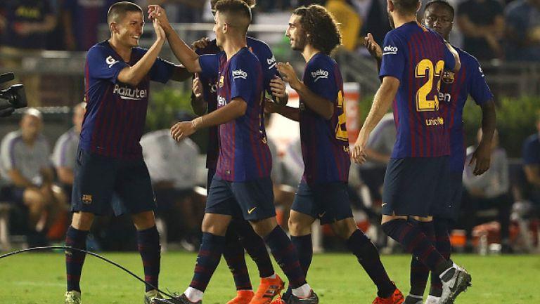Барселона пребори Тотнъм във вълнуващ мач в САЩ