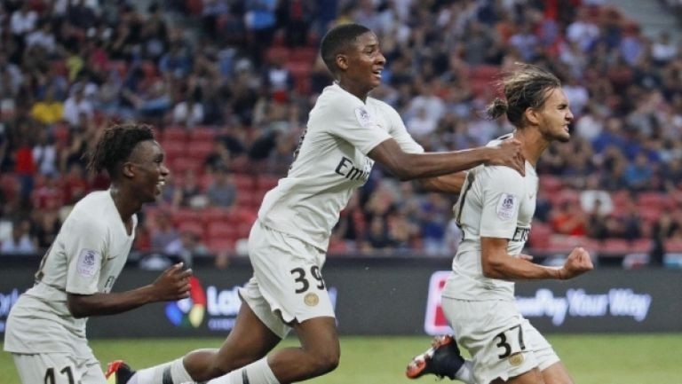 ПСЖ с драматична победа над Атлетико (Мадрид) в Сингапур