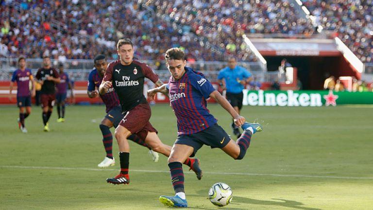 Милан излъга Барса с гол в 92-та минута