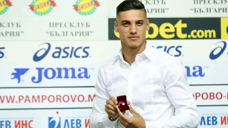 Кирил Десподов е футболист №1 на месец юли