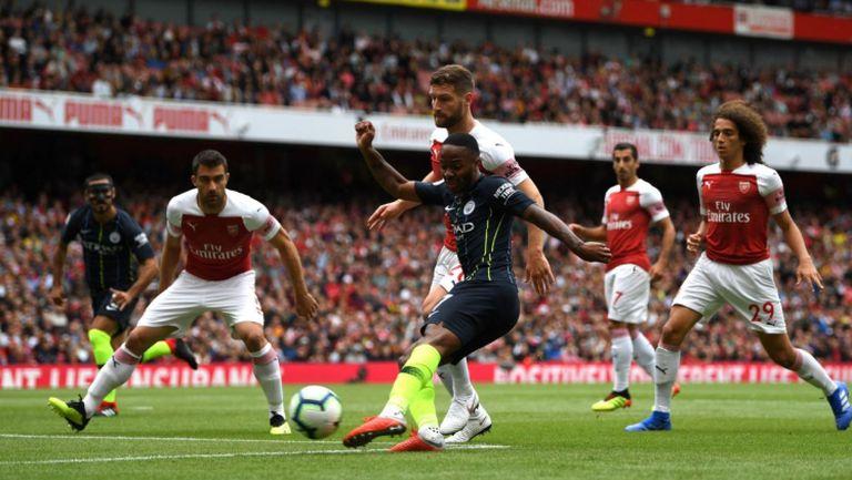 Арсенал - Манчестър Сити 0:2