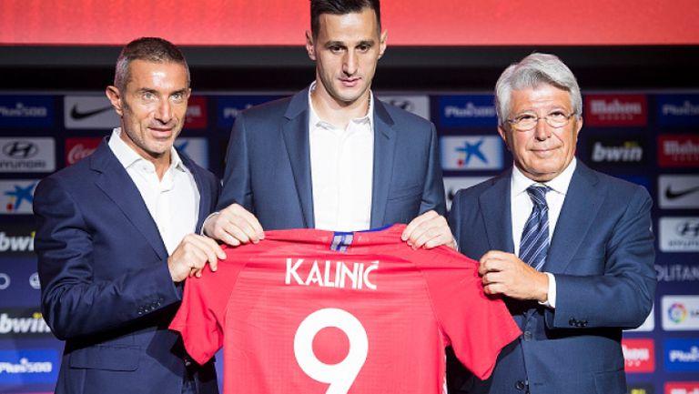Атлетико Мадрид официално представи Никола Калинич