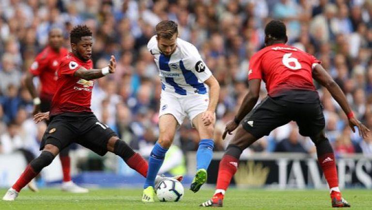 Брайтън - Манчестър Юнайтед 3:2