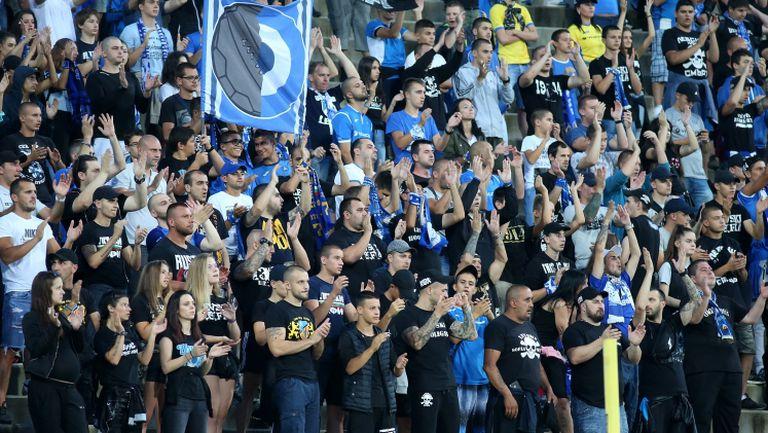"""Сектор """"Б"""" подкрепя """"сините"""" в мача срещу Септември"""