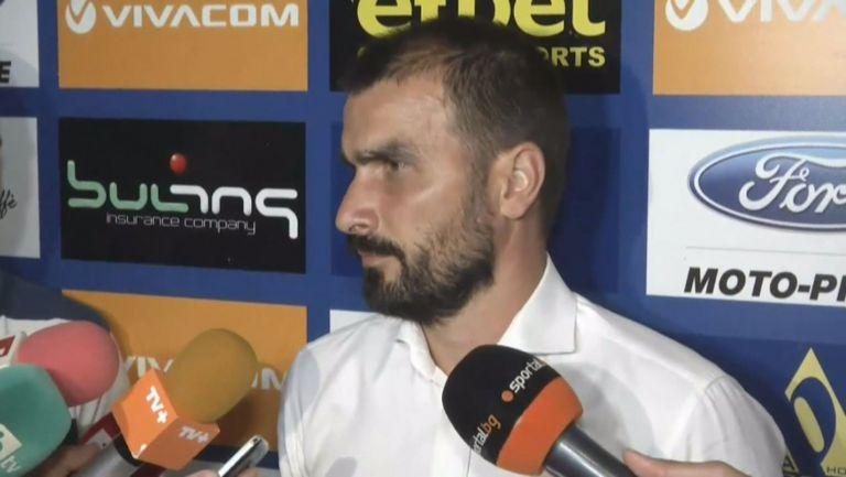 Кристиян Добрев: Следваме целите си, важно е да не изоставаме от другите отбори