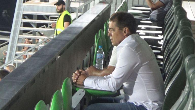Хубчев дойде за дербито в Разград