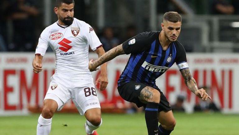 Интер профука два гола аванс срещу Торино